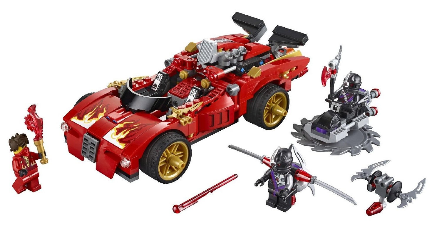Lego ninjago x 1 ninja charger summer 2014 set photos - Voiture ninjago ...
