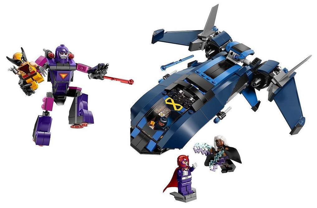 76022 LEGO X-Men vs  The Sentinel LEGO Marvel 2014 Summer SetsLego Marvel X Men Sets