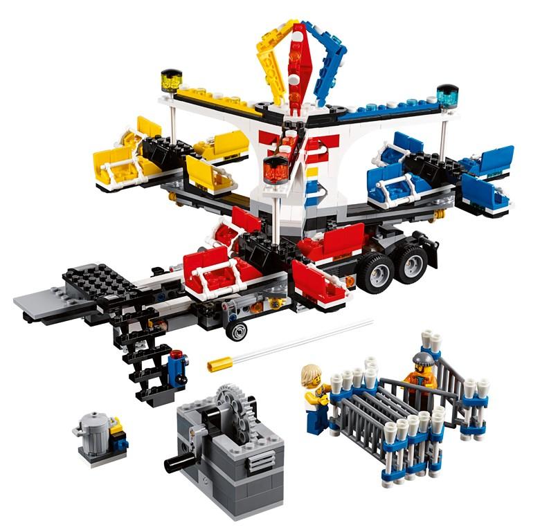 LEGO Fairground Mixer 10244 Set Photos & Order Info - Bricks and Bloks