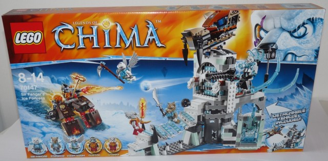 LEGO Chima Summer 2014 Sir Fangar's Ice Fortress 70147 Box