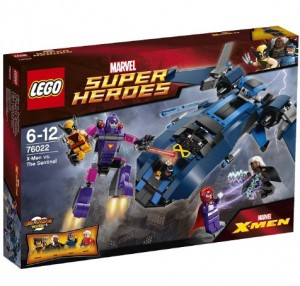 LEGO Marvel X-Men vs The Sentinel 76022 Box