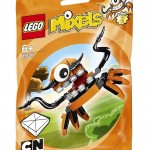 LEGO Mixels Series 2 Orange Flexers Summer 2014 Sets Photos