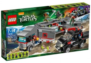 LEGO Ninja Turtles Movie Big Rig Snow Getaway 79116 Set Box