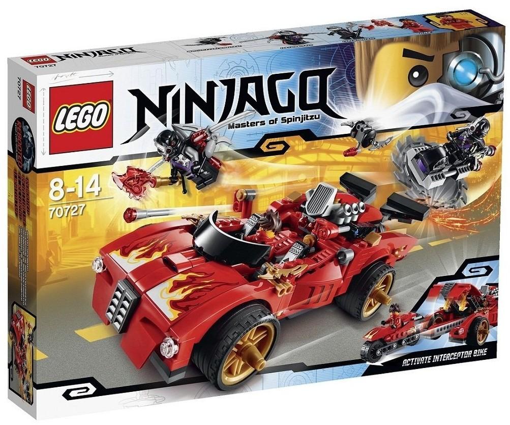 LEGO Ninjago X-1 Ninja Charger Summer 2014 Set Photos ...