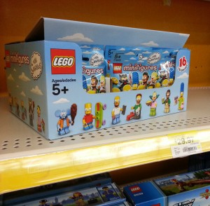 LEGO Simpsons Minifigures 71005 Case Released