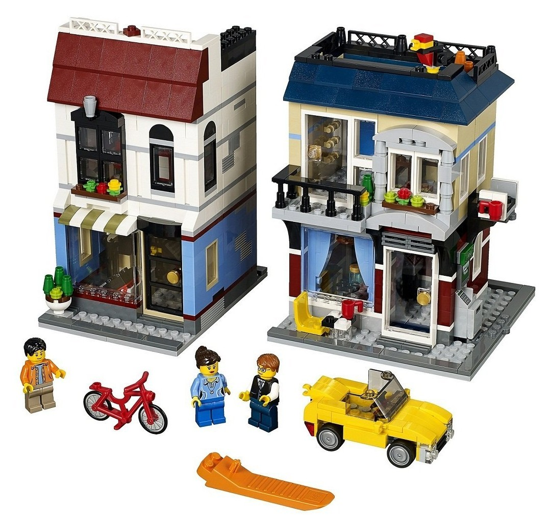 LEGO Bike Shop and Cafe 31026 Summer 2014 Set Photos ...