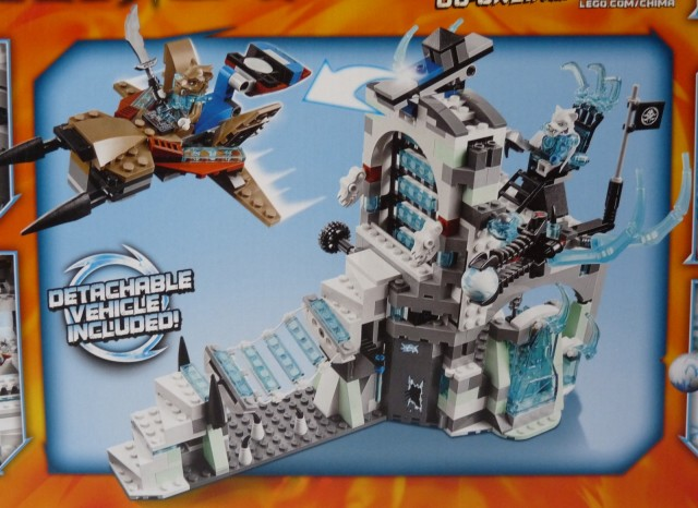 LEGO Summer 2014 Legends of Chima Sir Fangar's Ice Fortress 70147 Set
