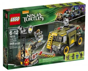 LEGO Teenage Mutant Ninja Turtles Movie Turtle Van Takedown 79115 Box