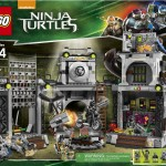 LEGO Ninja Turtles Movie Turtle Lair Invasion 79117 Set Revealed!