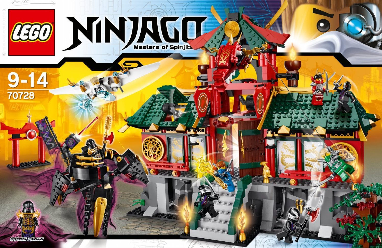 lego ninjago battle for ninjago city 70728 summer 2014 set