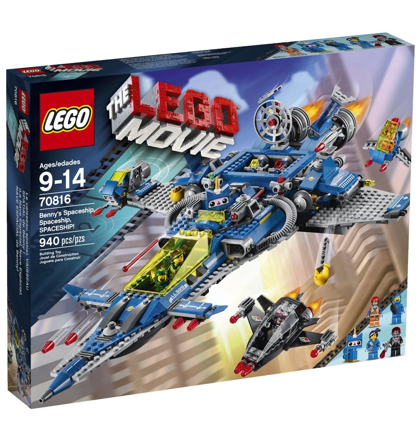 lego movie benny 39 s spaceship spaceship spaceship 70816. Black Bedroom Furniture Sets. Home Design Ideas