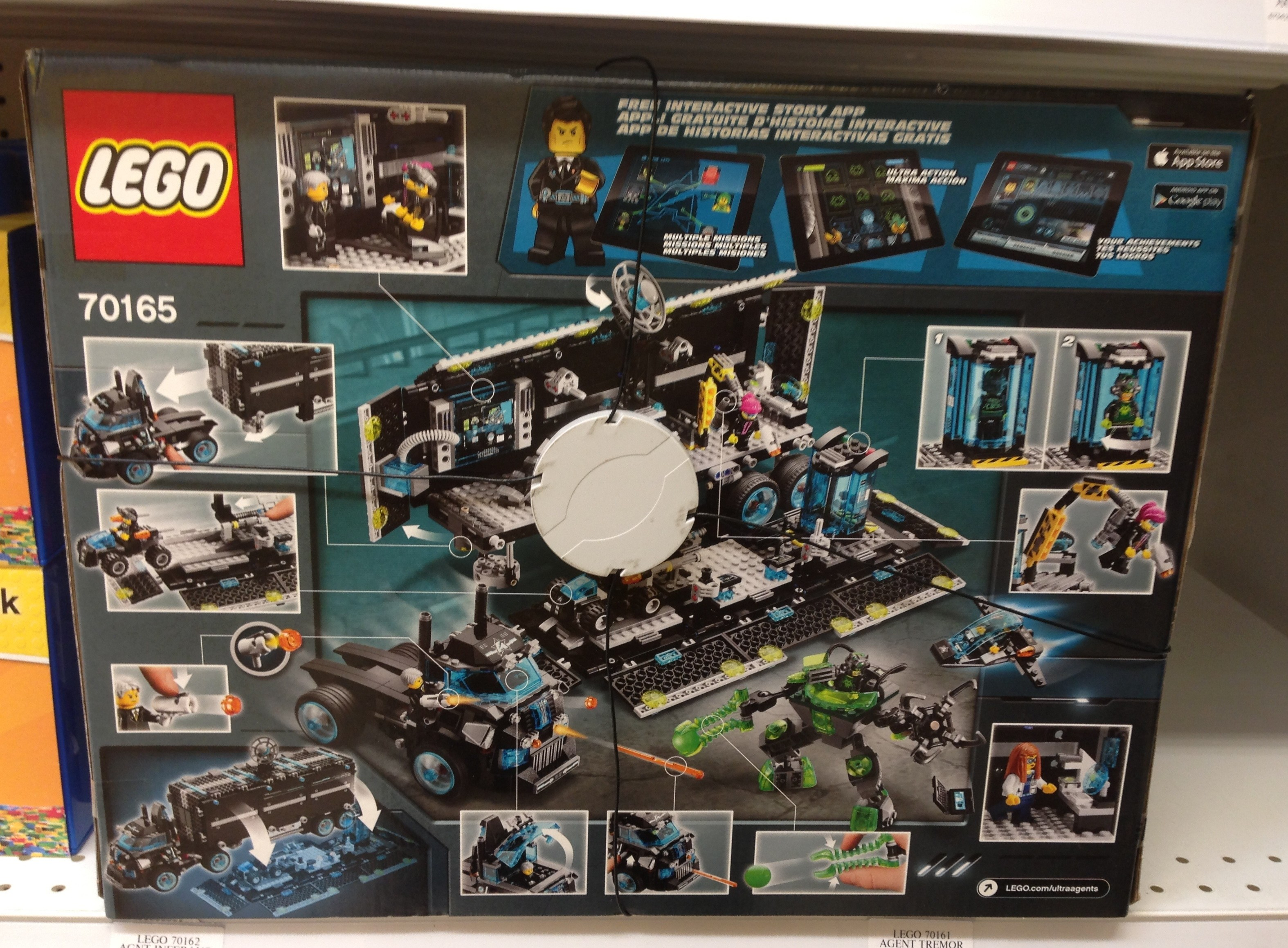 lego ultra agents sets released early photos bricks and bloks. Black Bedroom Furniture Sets. Home Design Ideas