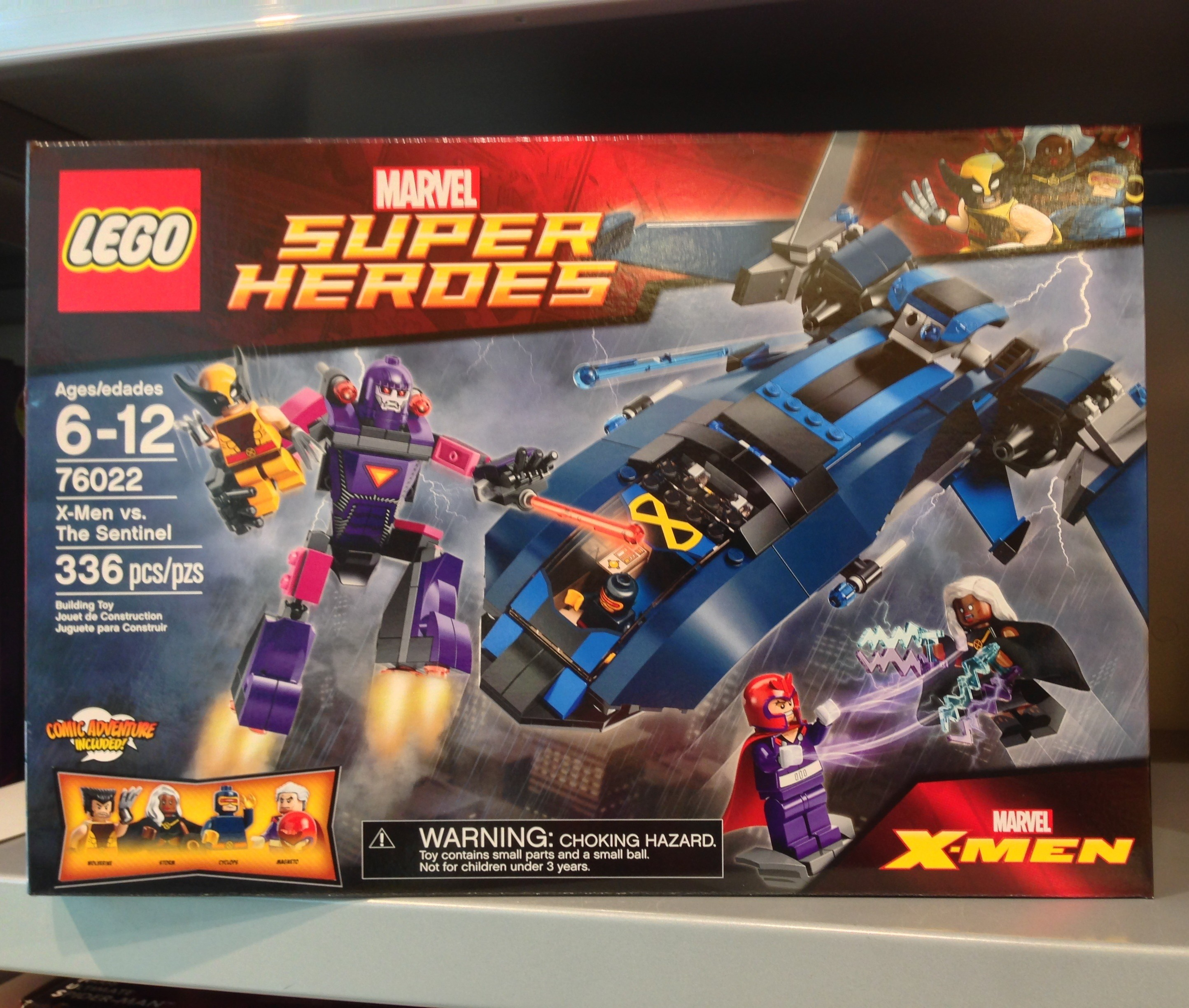 Lego X Men Vs The Sentinel 76022 Set Released Photos Bricks