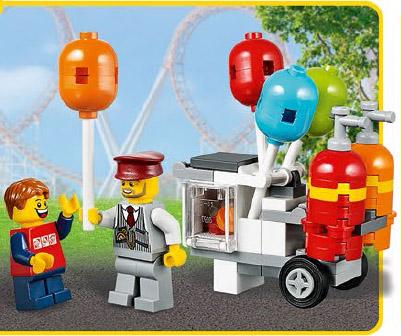 LEGO Balloon Stand 40108 LEGO Stores June 2014 Free Promo! - Bricks ...