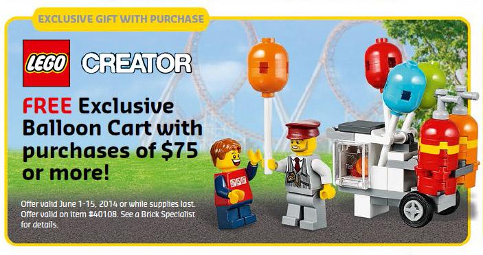 June 2014 LEGO Store Calendar: Promos, Events, & Deals! - Bricks and ...