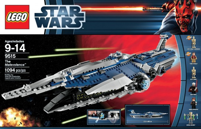 LEGO Star Wars Malevolence 9515 May the 4th Sale Item