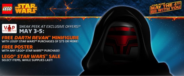 LEGO Star Wars May the 4th 2014 Exclusive Offers