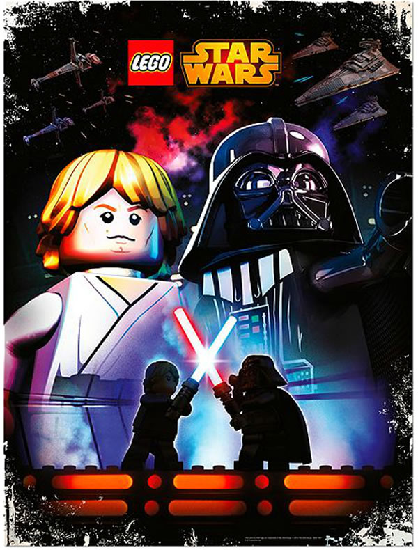 LEGO Star Wars Poster Promo May the 4th 2014 Giveaway