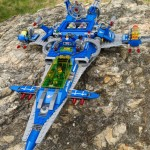 LEGO Movie Benny's SPACESHIP! 70186 Review & Photos