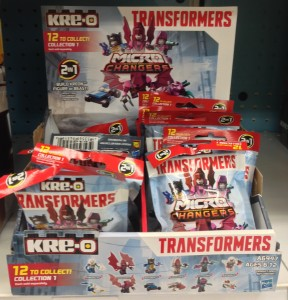 Kre-O Transformers Age of Extinction Blind Bags Codes Numbers List