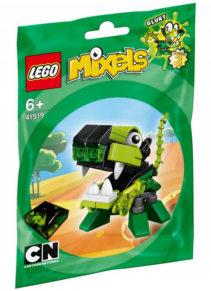 Lego Mixels Series 3 Green Tribe Glorp Corp Figures Photos