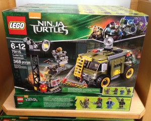 LEGO Ninja Turtles Turtle Van Takedown 79115 Set Released