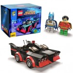 SDCC 2014 LEGO Batman Classic Batmobile & Minifigures Revealed!