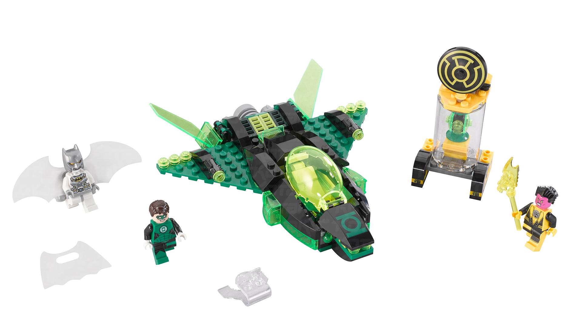 SDCC 2014: LEGO Green Lantern vs. Sinestro 2015 Set ...