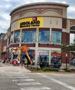 LEGO Land Discovery Center Chicago Store Photos LEGO Giraffe