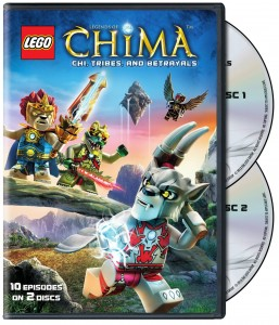 LEGO Legends of Chima Season 1 Part 2 DVD Set Review