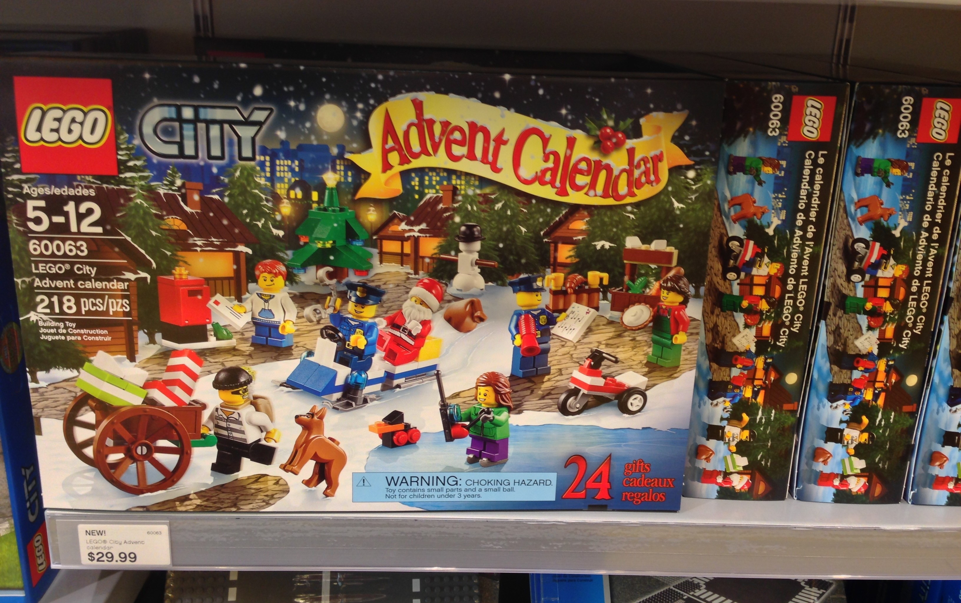 Lego city 2014 advent calendar released in stores photos bricks lego city 2014 advent calendars released voltagebd Choice Image