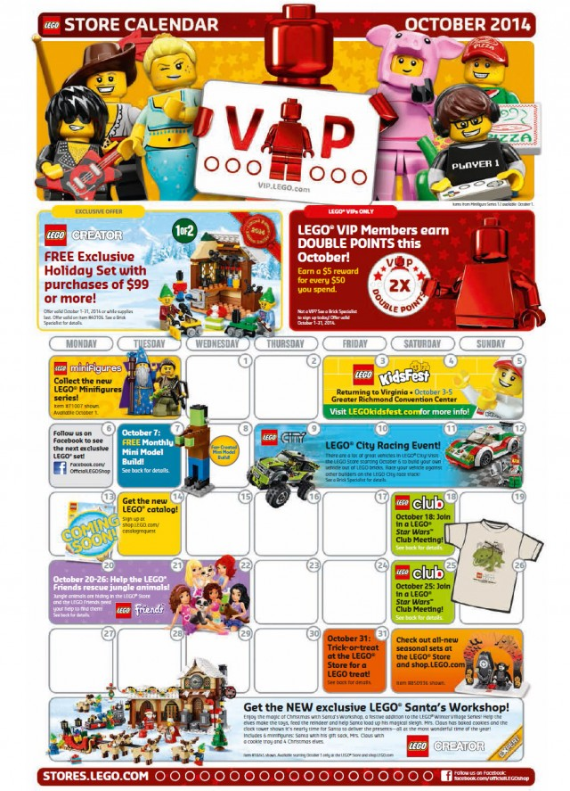how to get free lego vip points