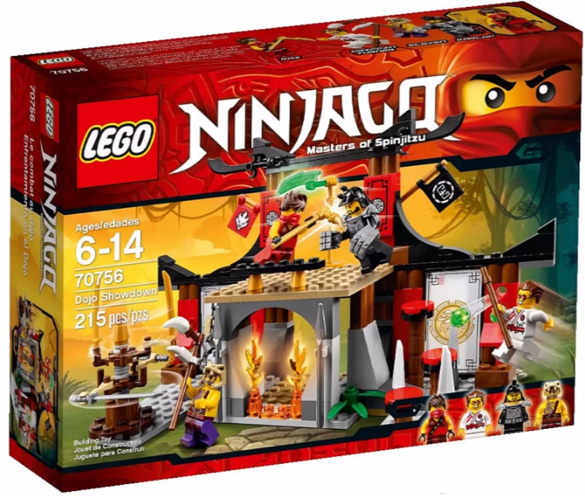 Ninjago Lego 2015 Showdown RevealedBricks 70756 And Sets Bloks Dojo PZuOXki