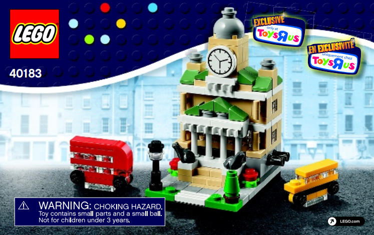 Lego Sets At Toys R Us : Bricktober lego exclusive mini modular sets revealed