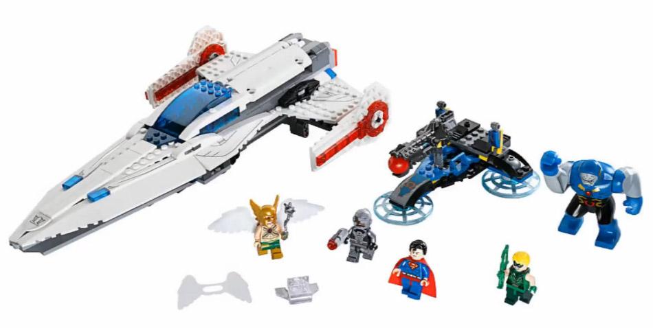 LEGO DC 2015 Darkseid Invasion 76028 Set Photos! Cyborg ...