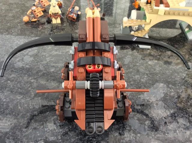 79017 LEGO The Hobbit Battle of Five Armies Ballista Top View