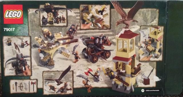 79017 LEGO The Hobbit War of Five Armies Set Box Back 2014