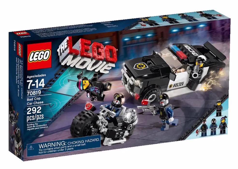 LEGO Movie Bad Cop Car Chase Winter 2015 Set Photos ...