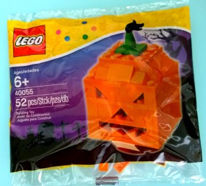 LEGO 40055 Halloween Pumpkin Jack O' Lantern Polybag Set