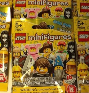 October 2014 LEGO Minifigures Series 12 71007 Blind Bags