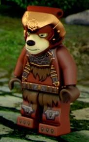 LEGO Chima Bladvic Minifigure Screenshot Bear Tribe