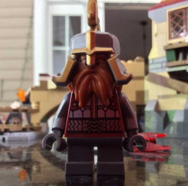 LEGO Dain Ironfoot Minifigure from LEGO 79017 The Battle of Five Armies