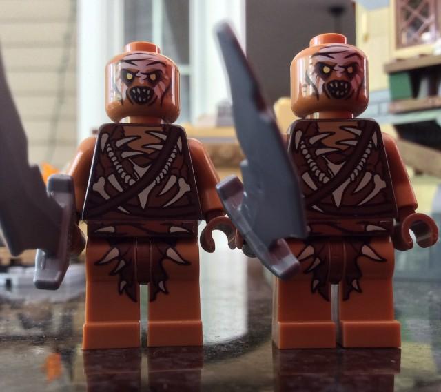 LEGO Gundabad Orcs Minifigures LEGO The Hobbit 79017 2014