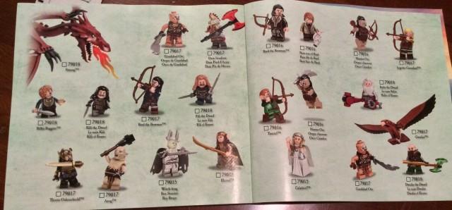 LEGO Hobbit 2014 Sets LEGO War of Five Armies Minifigures