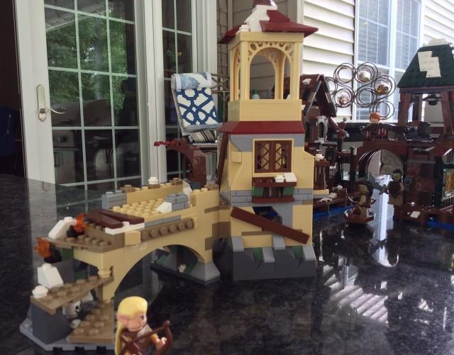 LEGO Hobbit The Battle of Five Armies 79017 Set Building