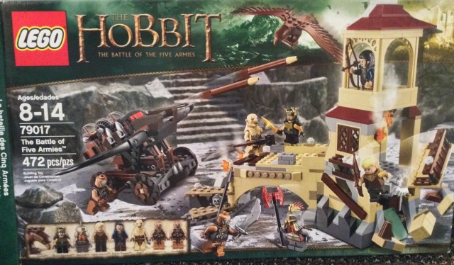 LEGO The Battle of Five Armies 79017 Box Front