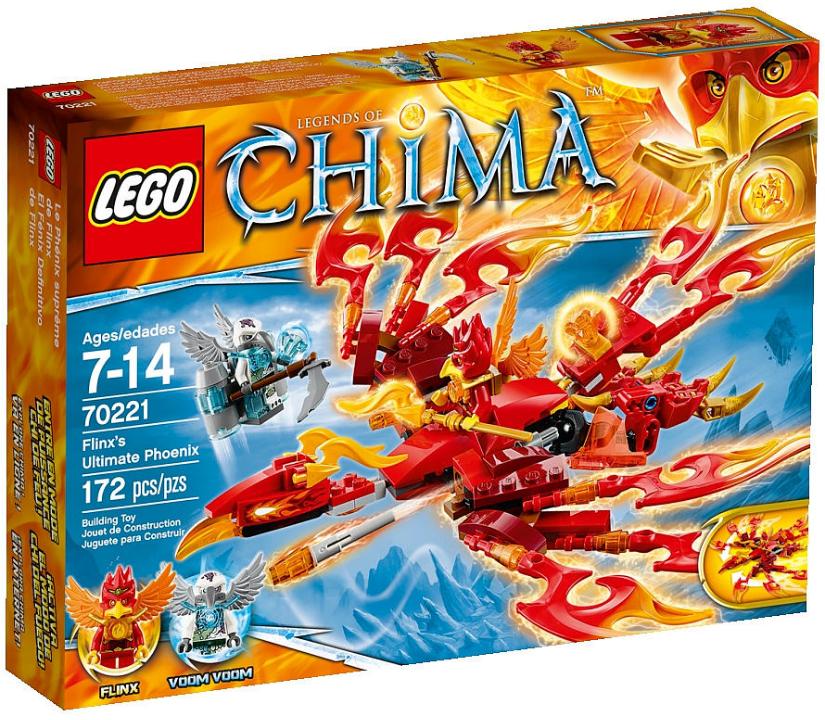 2015 LEGO Chima Flinx's Ultimate Phoenix 70221 Photos! - Bricks and