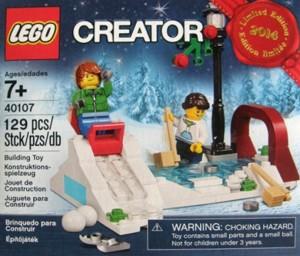 40107 LEGO 2014 Holiday Promo Set 2 Ice Skating