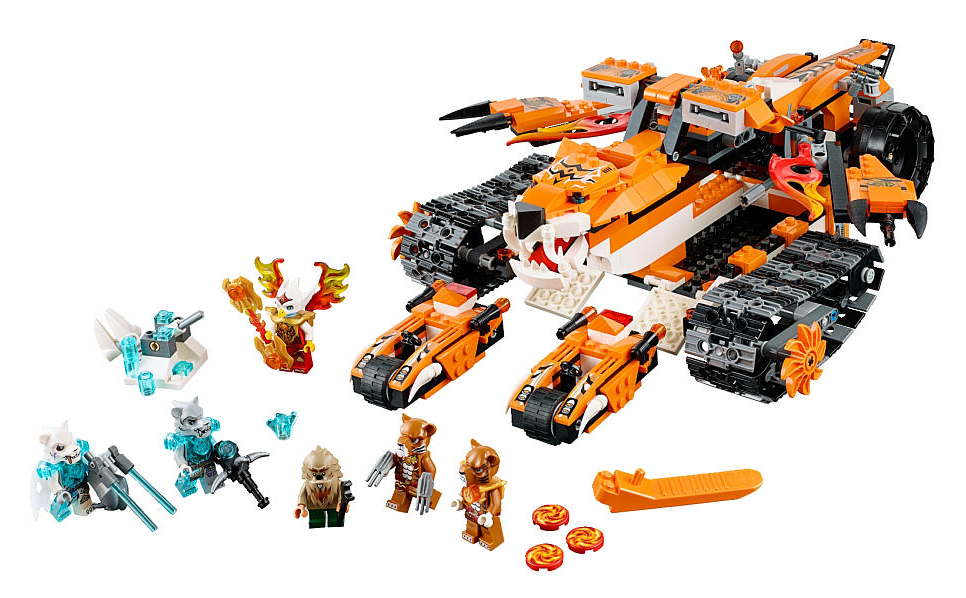 70224 lego chima tiger mobile command set is part of the lego chima