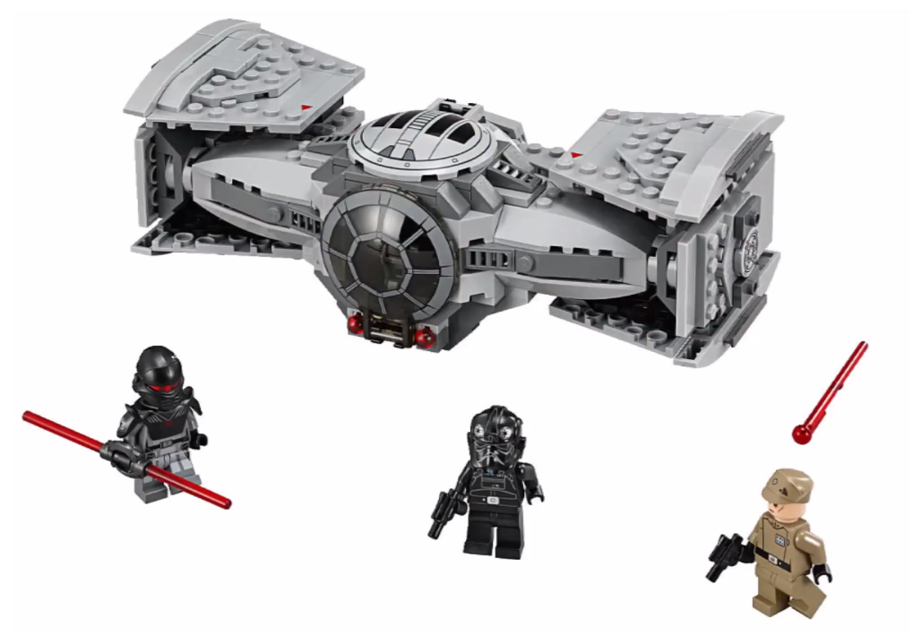 LEGO Star Wars 2015 TIE Advanced Prototype 75082 Set ...